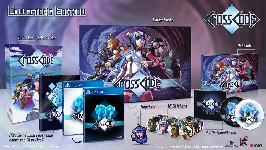 CrossCode Collector's Edition PS4 PlayStation 4
