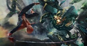 'Eat web, evil menancing robotic thing.'