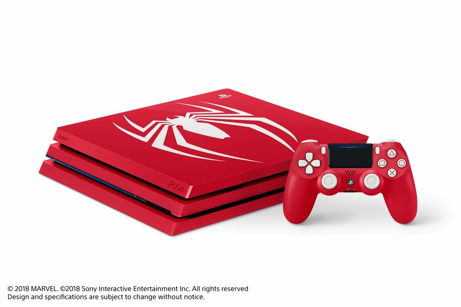 Marvel Spider-Man PS4 Pro Hardware Bundle 1