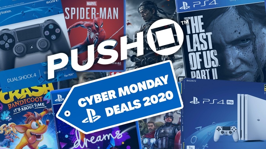 Push Square Cyber Monday PS4 PlayStation 4 1