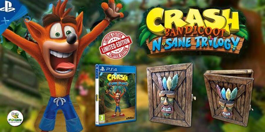 Crash Bandicoot N. Sane Trilogy Collector's Edition PS4 PlayStation 4 1