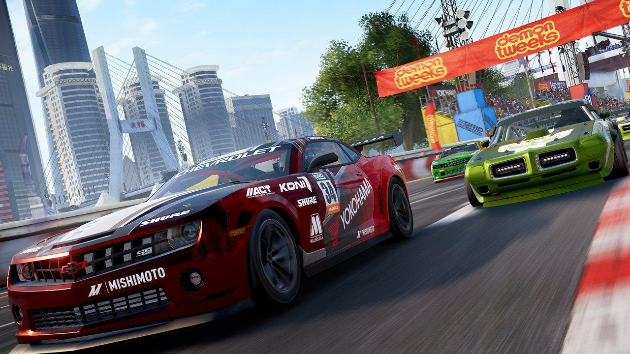 First GRID PS4 Gameplay Footage Speeds into View