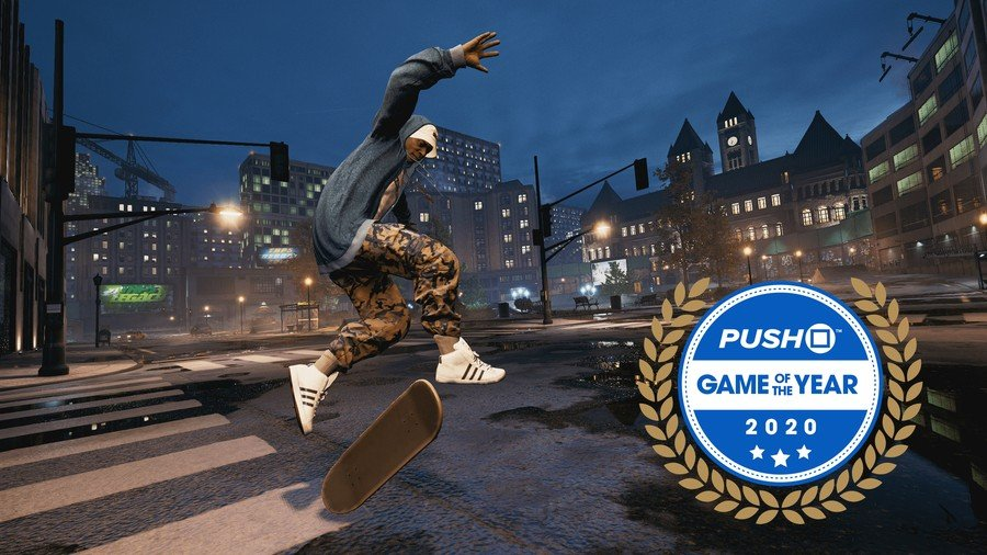 Tony Hawk's Pro Skater 1 + 2 PS4 PlayStation 4 Game of the Year GOTY 2020