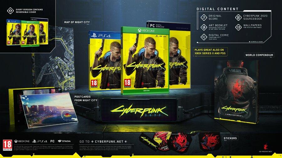 Cyberpunk 2077 Digital Extras