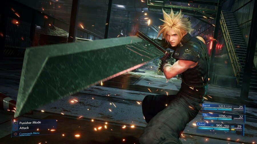 Final Fantasy VII Remake Patch 1.01 PS4