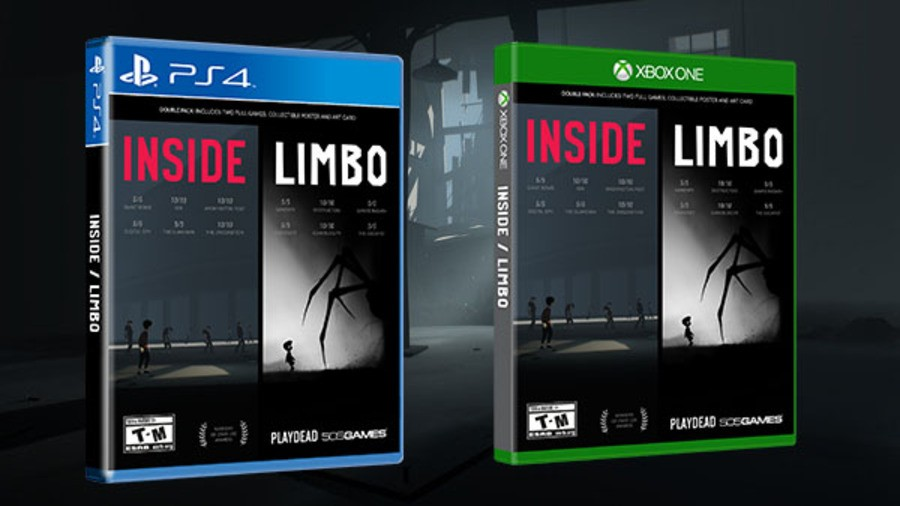 Limbo Inside PS4 PlayStation 4 1