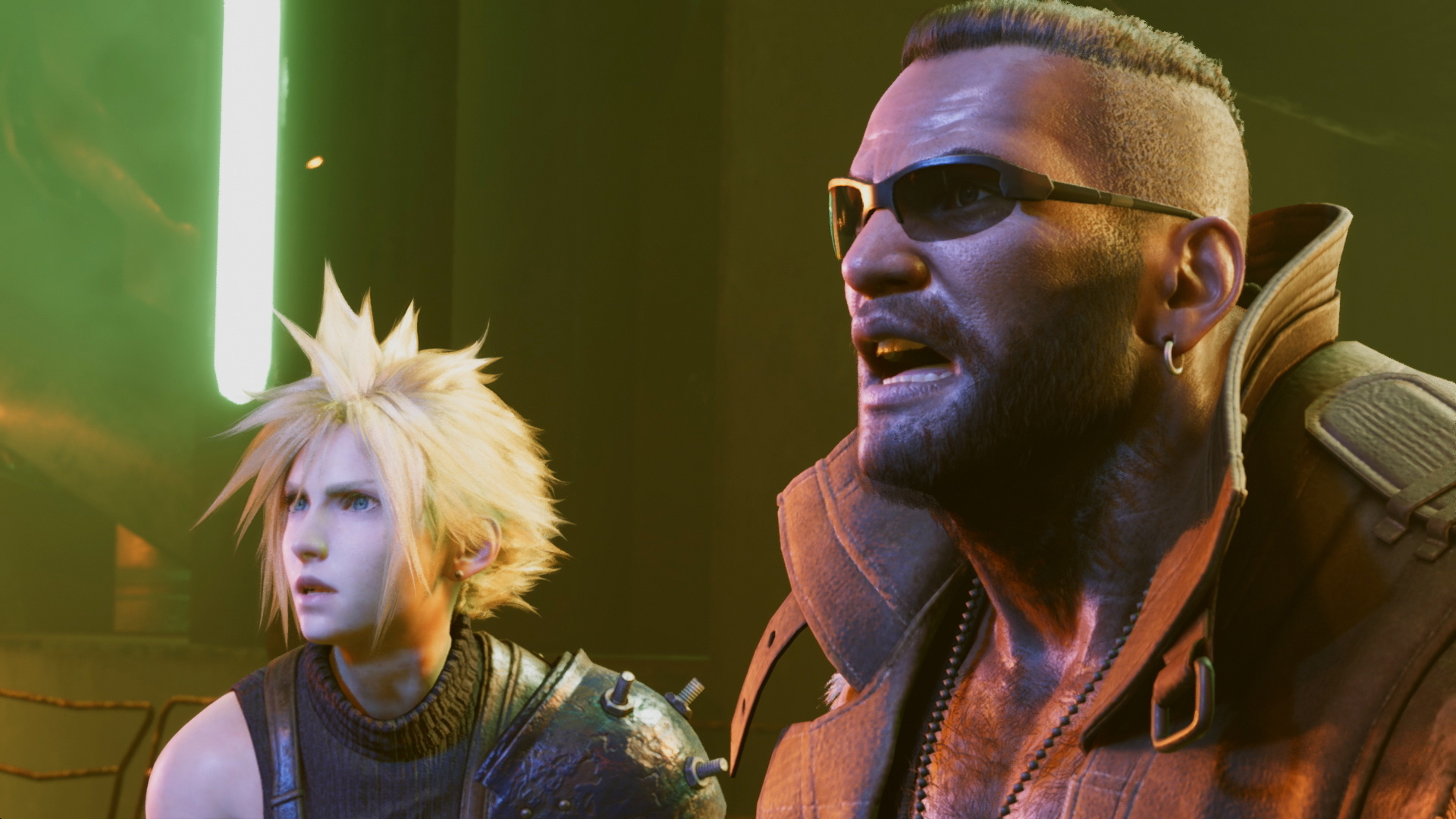 Final Fantasy VII Remake Remade in Dreams on PS4