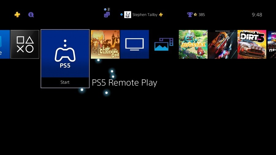 PS5 Remote Play PlayStation 5 PS4