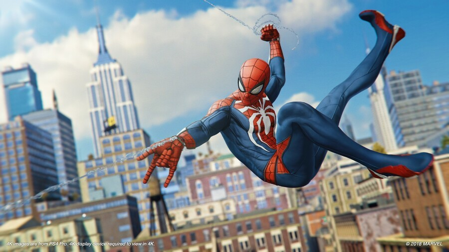 Marvel Spider-Man PS4 Hands On Swinging Preview 3