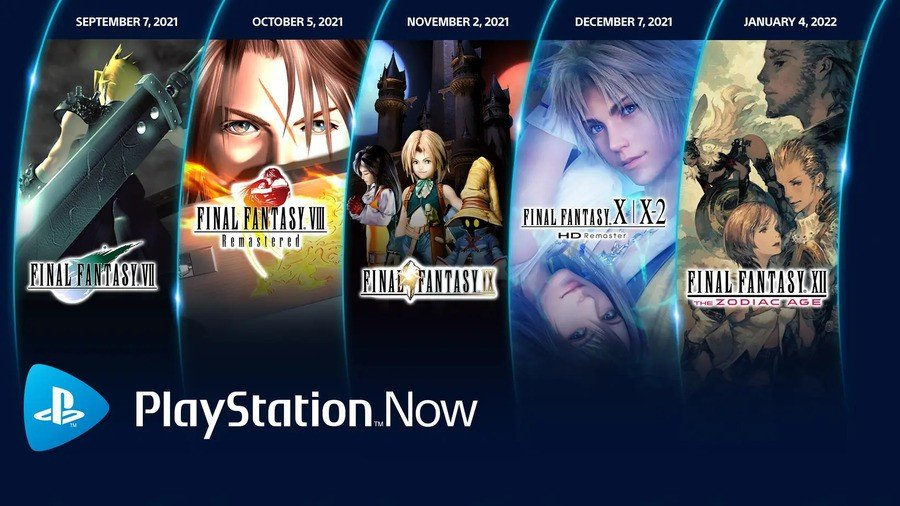 Final Fantasy PS Now 1