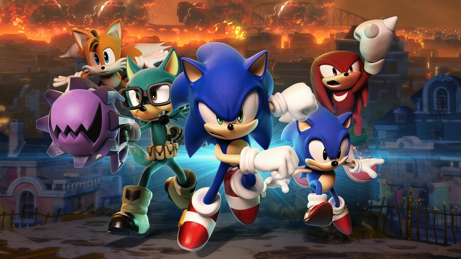 Sonic Forces PS4 PlayStation 4