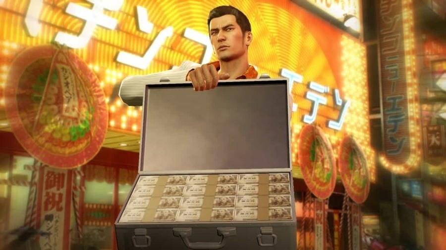 Yakuza PS4 PlayStation 1
