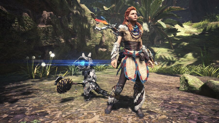 Monster Hunter World Aloy Gamma