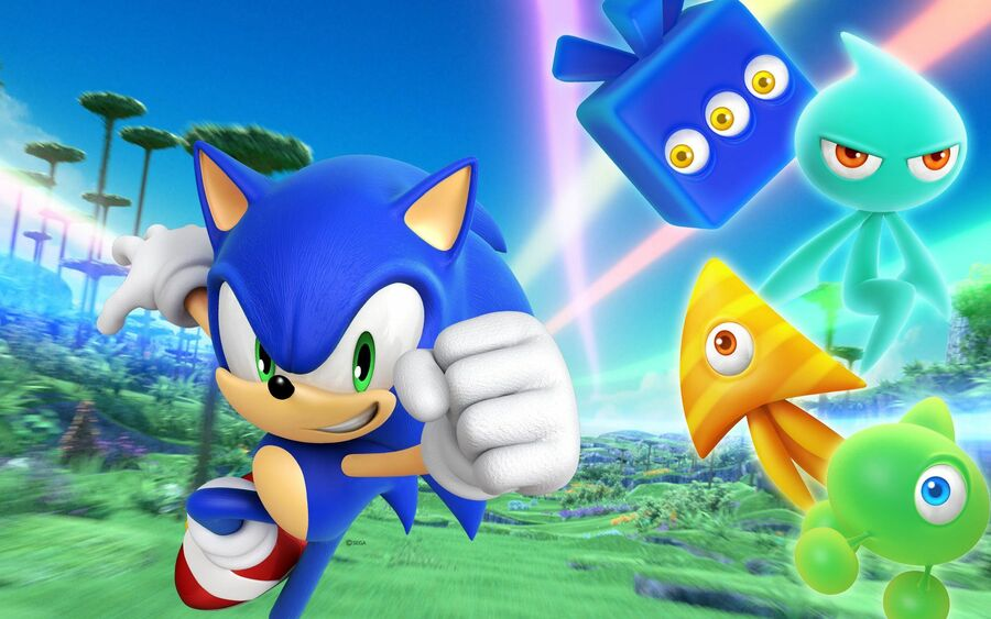 Sonic Colors PS4 PlayStation 4