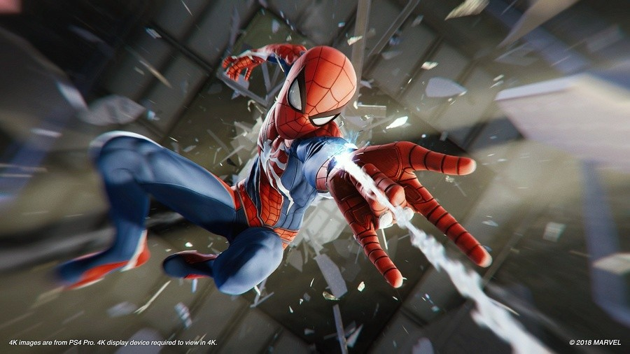 Marvel's Spider-Man Fantastic Four Update PS4 PlayStation 4