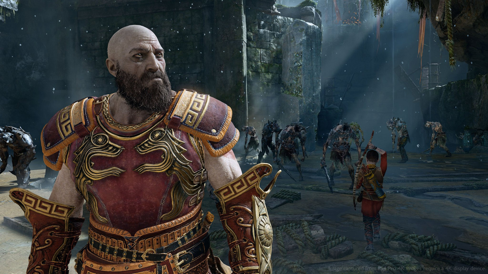 God Of War Ps4 New Game How To Start What Carries Over