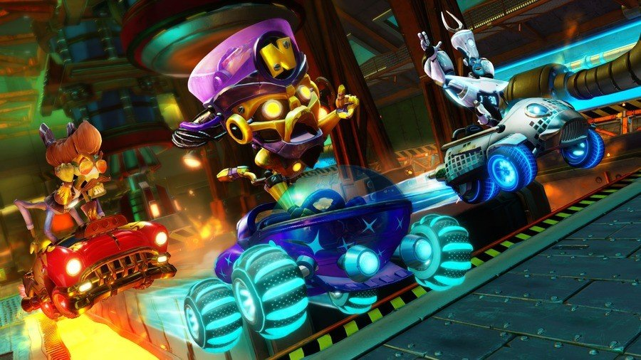 Crash Team Racing Nitro-Fueled PS4 PlayStation 4