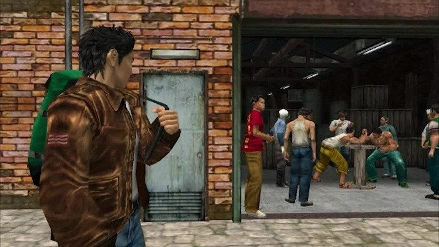 Shenmue II How to Win 5 Arm Wrestling Matches Guide 1
