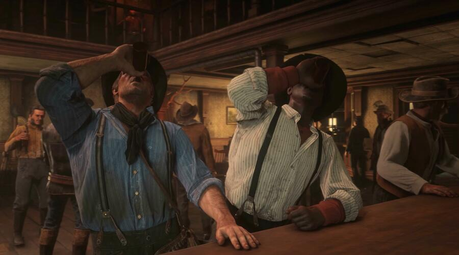 eb games red dead redemption 2 ps4