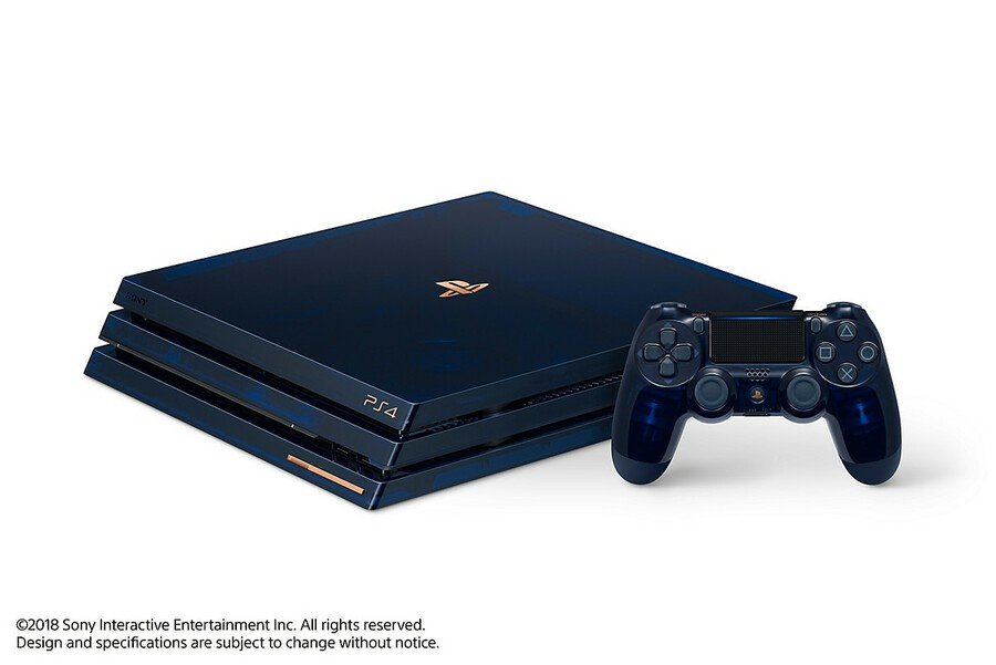 500 Million PS4 Pro PlayStation 4 Console