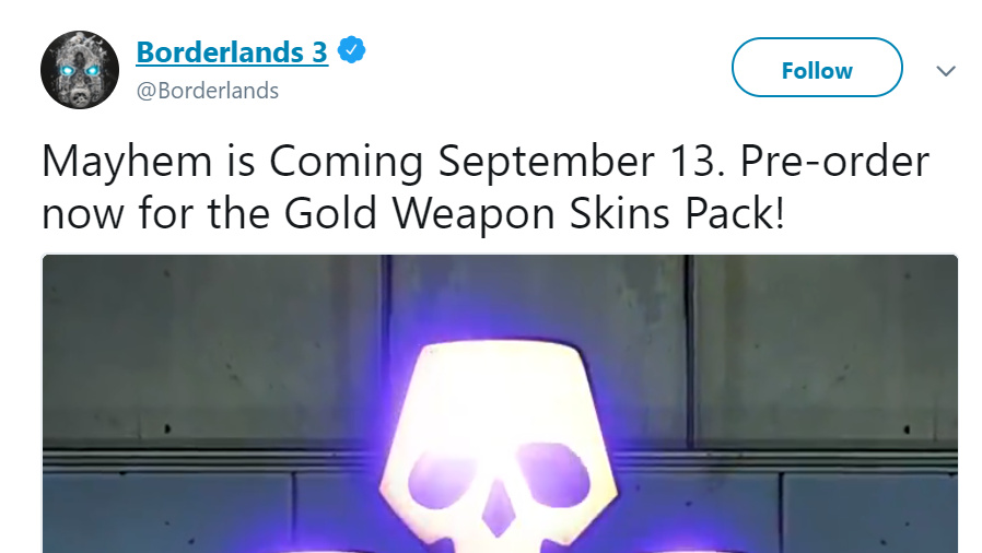 Did the Release Date for Borderlands 3 Just Get Leaked?