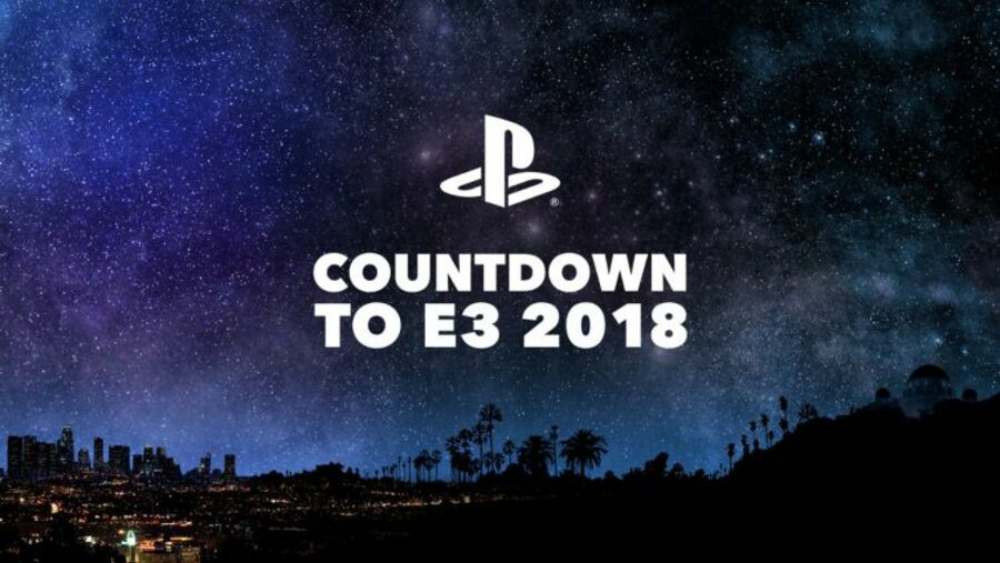 Sony PS4 E3 2018 Countdown 1