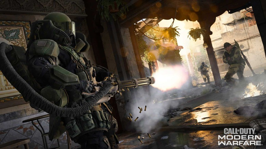 Call of Duty: Modern Warfare Patch 1.07 PS4