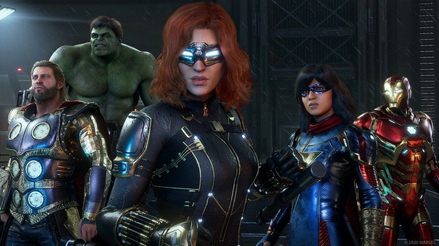 Marvel's Avengers - All Confirmed Characters Guide 1
