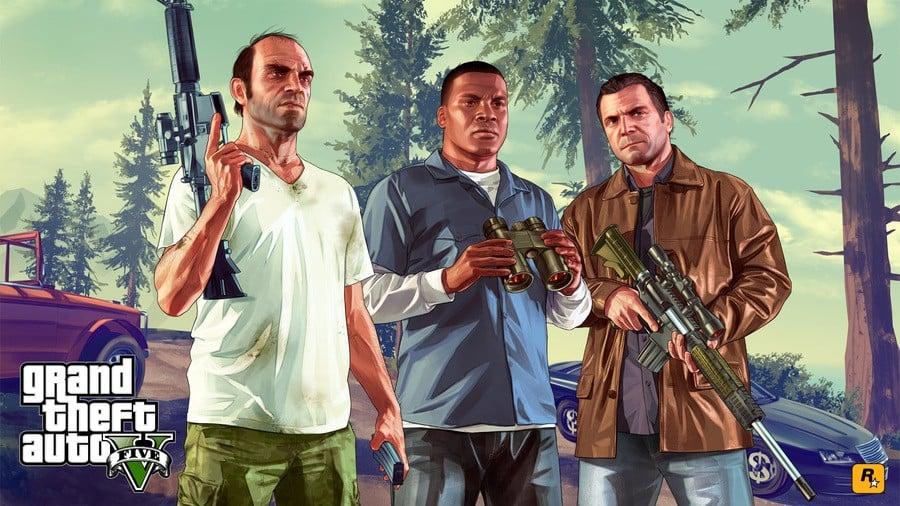 Grand Theft Auto V 5 PS4 PlayStation 4 1