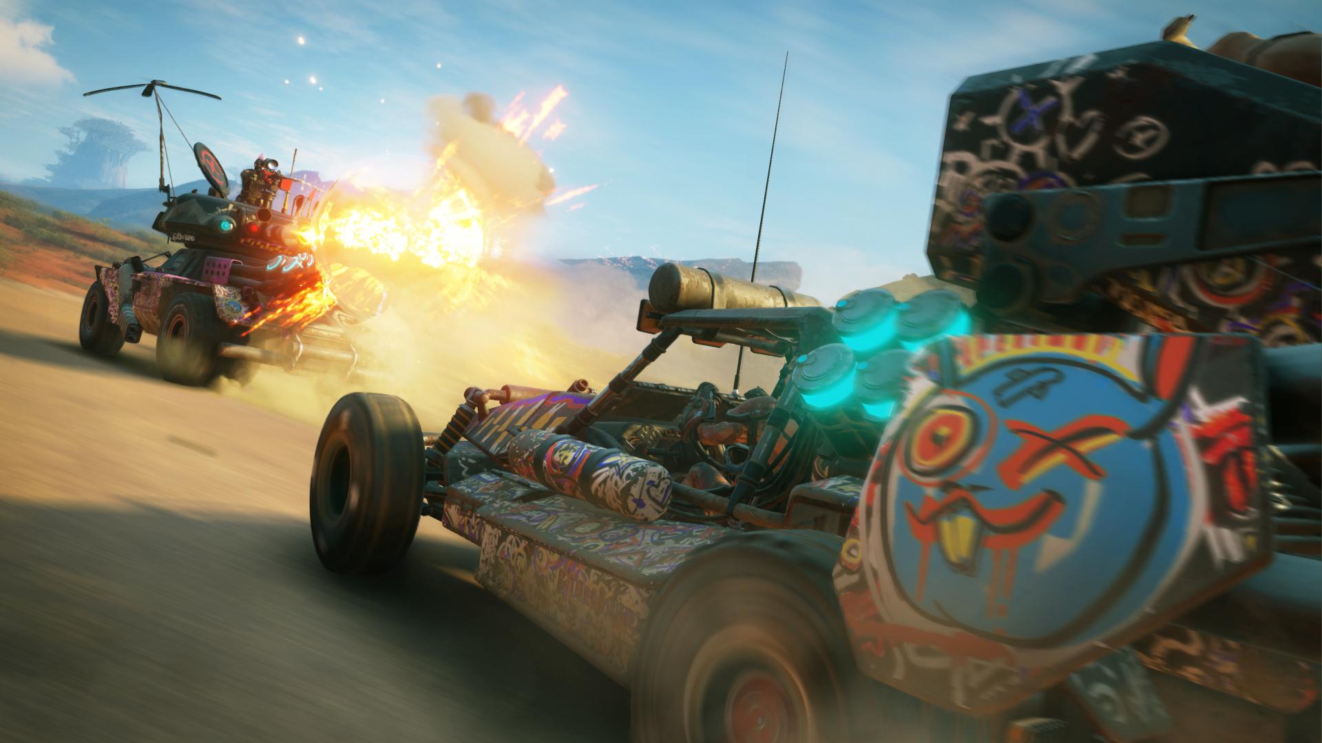 Rage 2 vehicles