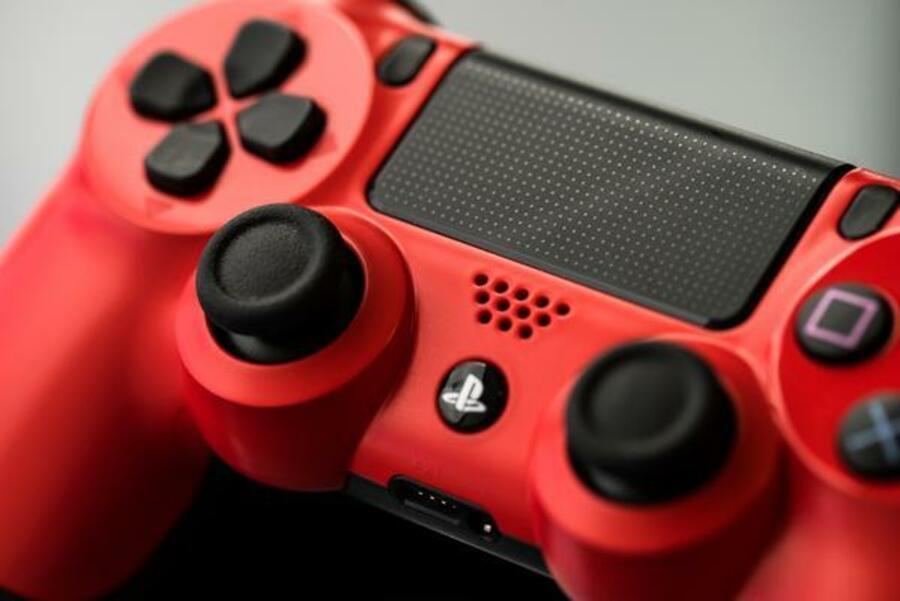 Red Dualshock 3