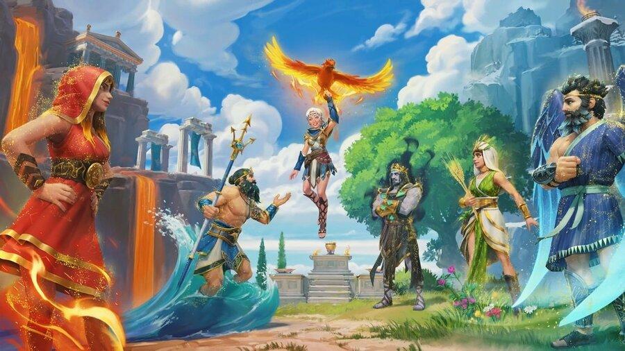 Immortals Fenyx Rising The Lost Gods DLC