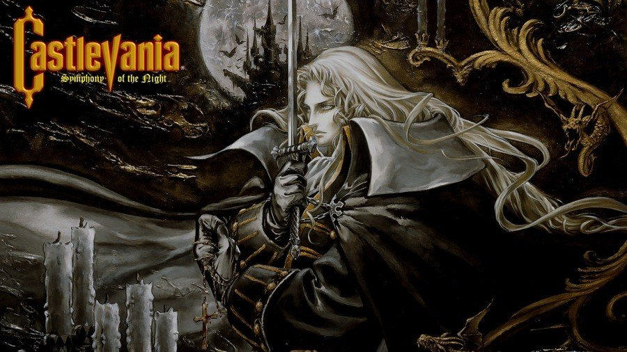 Castlevania Symphony of the Night PS4 PlayStation 4 1