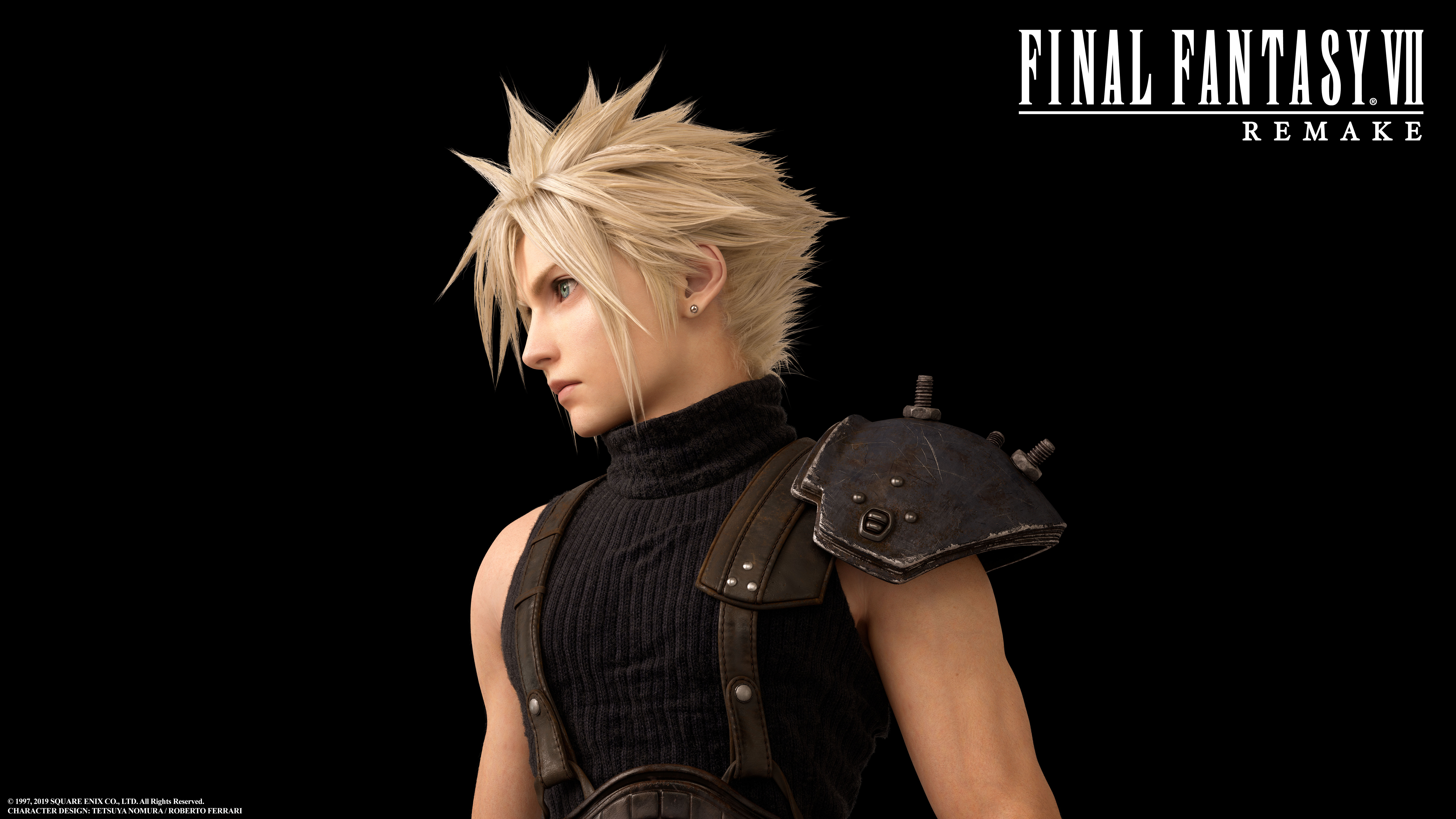 Gallery All Final Fantasy Vii Remake Character Art Push Square
