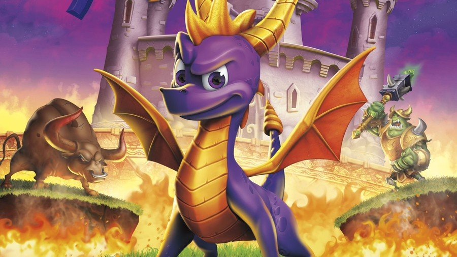 Spyro: Reignited Trilogy Art PS4 PlayStation 4