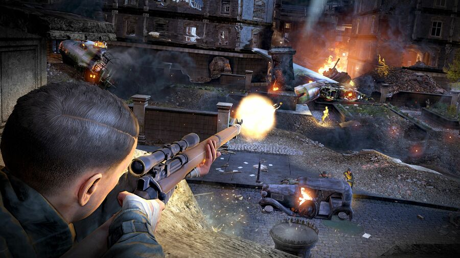 Sniper Elite V2 PS4 PlayStation 4 1
