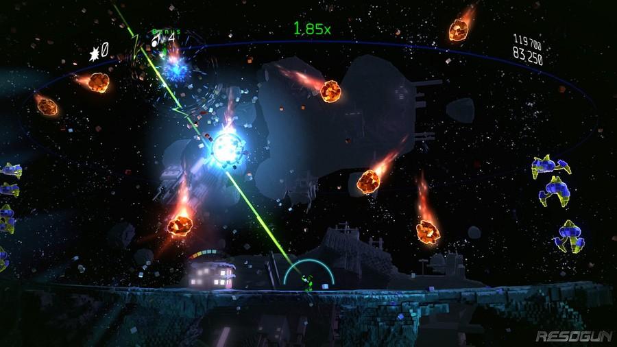 Resogun Defenders PlayStation 4 PS4 1