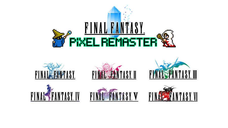 Final Fantasy Pixel Remaster Consoles