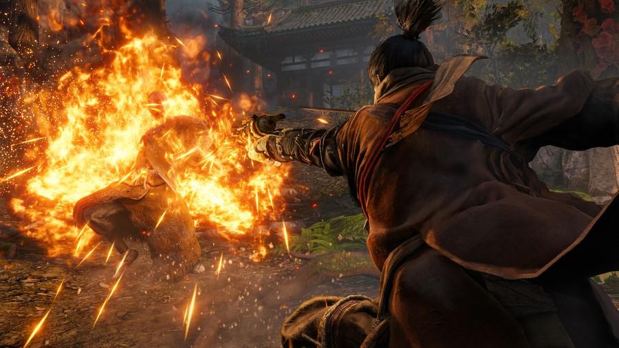 Sekiro: Shadows Die Twice How to Kill Guardian Ape Boss Guide PS4 PlayStation 4