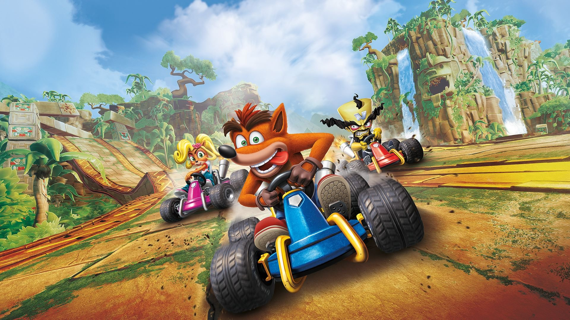 Hands On Can Crash Team Racing Compete With Mario Kart 8 Deluxe