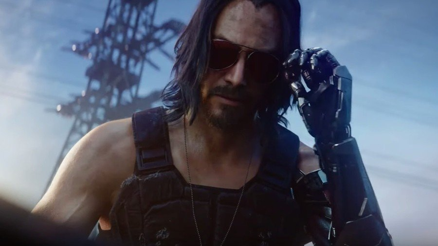 Cyberpunk 2077 Keanu Reeves Johnny Silverhand PS4 PlayStation 4