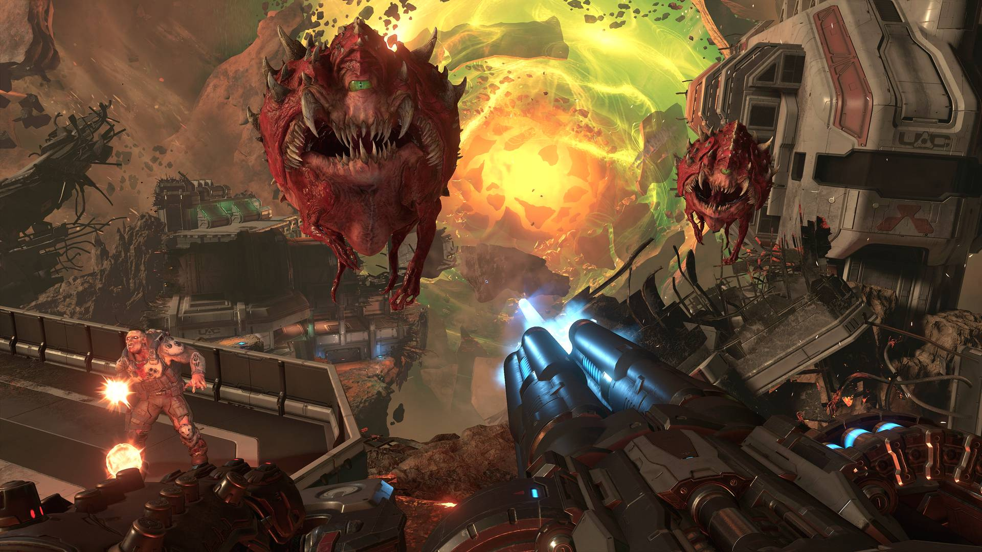 DOOM Eternal Is Pushing the PS4 Hardware to Its Limit