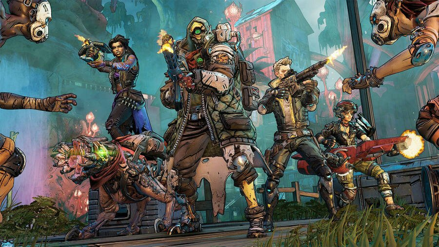 Borderlands 3 PS4 Pro Performance PlayStation 4 1