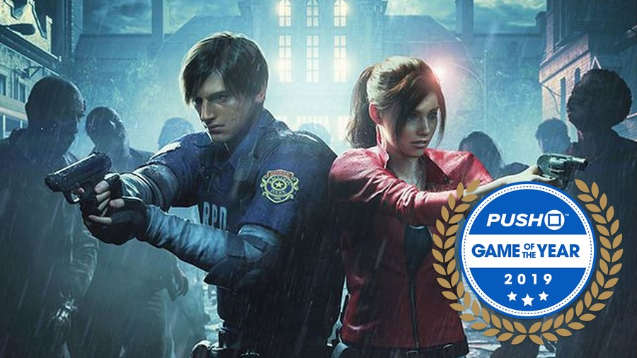 Game of the Year Resident Evil 2 PS4 PlayStation 4 1