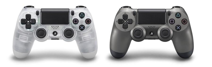 Crystal Steel Black DualShock 4 PS4 PlayStation 4 1