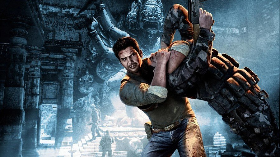 Uncharted 2 Among Thieves PS4 PlayStation 4