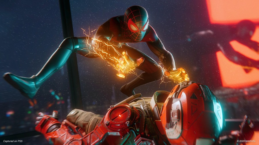 Spider-Man Miles Morales PS5 Crash