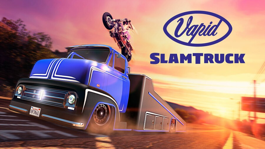 GTA Online Vapid Slamtruck PS4 PlayStation 4 1