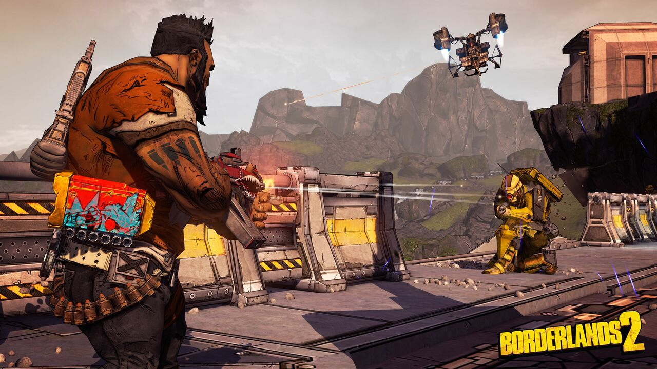 Borderlands: The Handsome Collection Polished for PS4 Pro