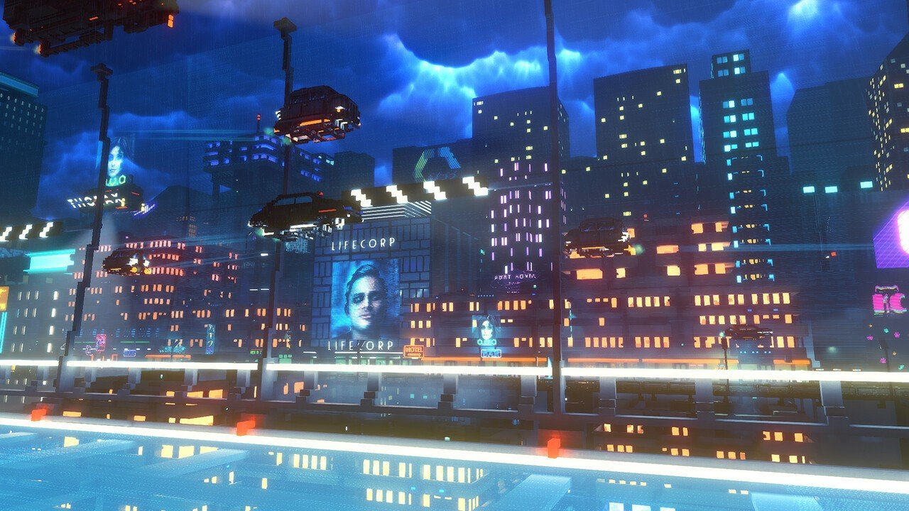 Cloudpunk Fulfills All Your Blade Runner Fantasies on PS4